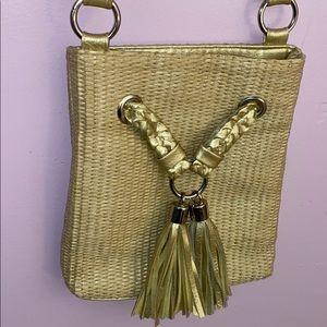 Cute straw Bueno crossbody bag!!